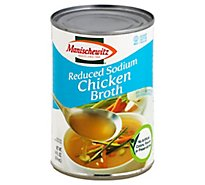 Manischewitz Low Sodium Chicken Broth - 14 Oz
