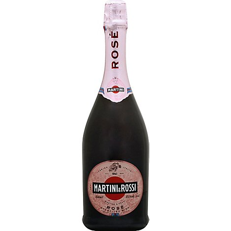 Martini & Rossi Sparkling Wine Rose - 750 Ml