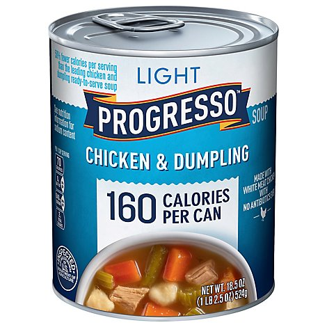 Progresso Light Soup Chicken & Dumpling - 18.5 Oz