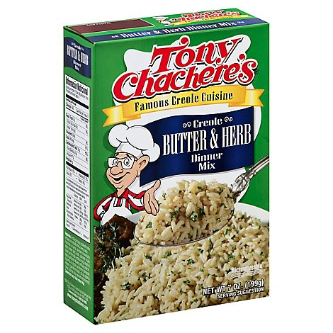 Tony Chacheres Dinner Mix Creole Butter & Herb Box - 7 Oz
