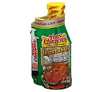 Tony Chacheres Injectables Marinade Roasted Garlic & Herb - 17 Oz
