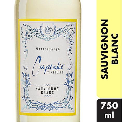 Cupcake Vineyards Wine White Sauvignon Blanc - 750 Ml