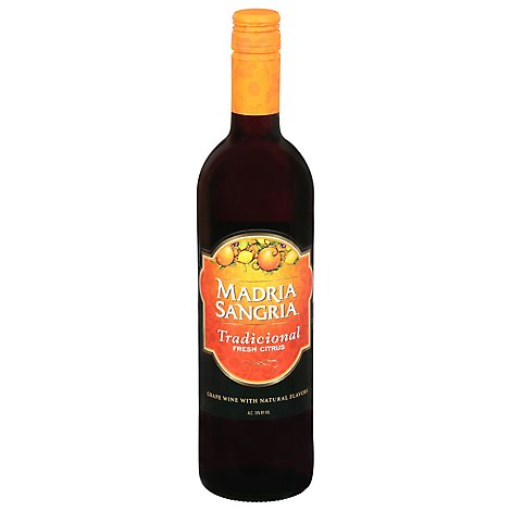 Madria Sangria Red Wine - 750 Ml