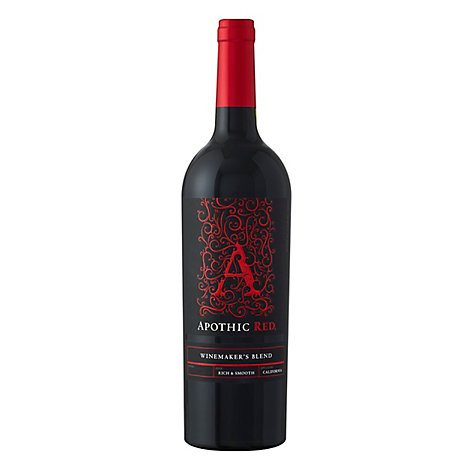 Apothic Red Wine Winemakers Blend California - 750 Ml