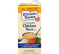 Kitchen Basics Stock Unsalted Chicken - 32 Fl. Oz.