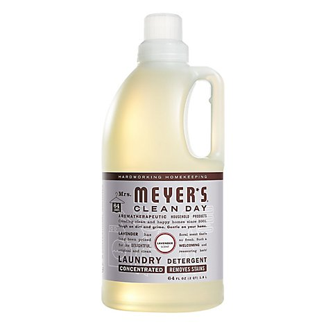 Mrs. Meyers Clean Day Laundry Detergent Lavender 64 fl oz