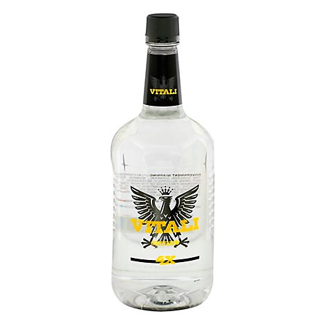 VITALI Vodka Premium Citron Citrus Flavored 70 Proof - 1.75 Liter