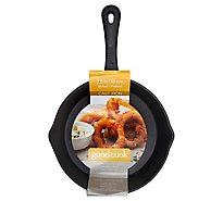 Good Cook Cast Iron Skillet 8 Inch - Each