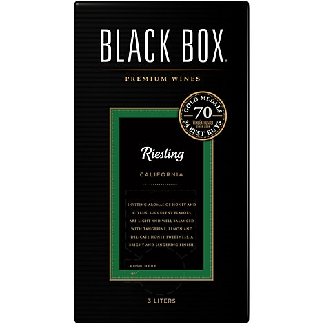 Black Box Wine White Riesling - 3 Liter