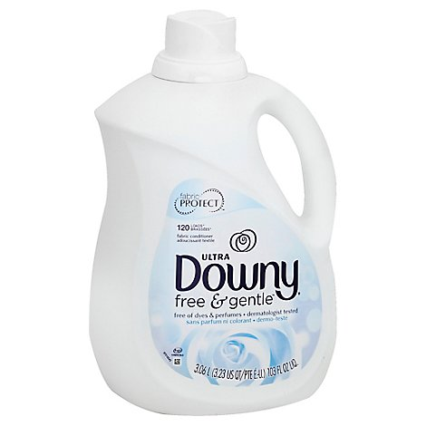 Downy Ultra Fabric Conditioner Free & Gentle Jug - 103 Fl. Oz.