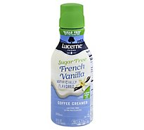 Lucerne Coffee Creamer Sugar Free French Vanilla - 32 Fl. Oz.
