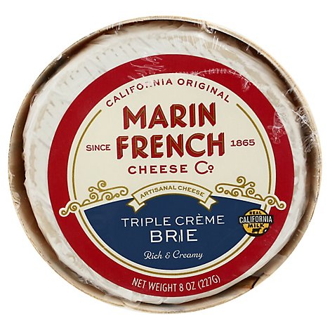 Rouge Et Noir Cheese Brie Triple Creme - 8 Oz