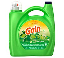 Gain Liquid Detergent Lift & Lock Original Jug - 150 Fl. Oz.