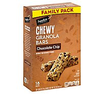 Signature SELECT/Kitchens Granola Bars Chewy Chocolate Chip - 18-0.84 Oz