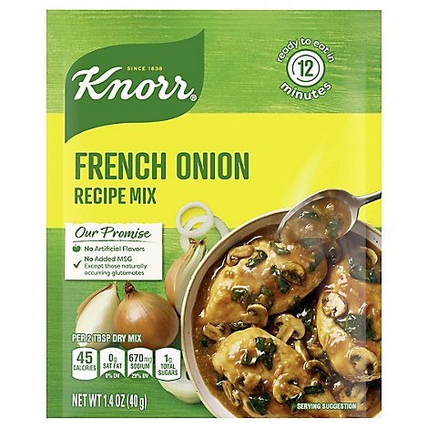 Knorr Recipe Mix French Onion - 1.4 Oz