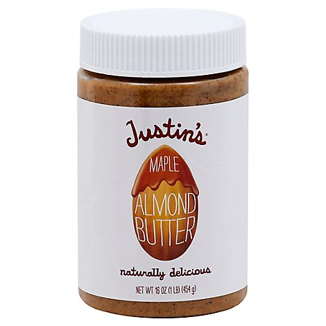 Justins Almond Butter Maple - 16 Oz