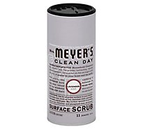Mrs. Meyers Clean Day Surface Scrub Lavender Scent 11 ounce bottle
