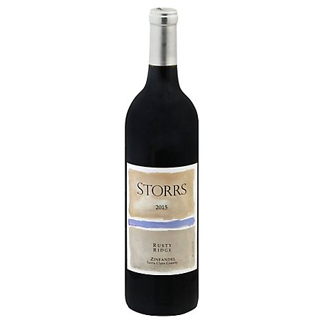 Storrs Rusty Ridge Zin Wine - 750 Ml