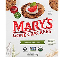Marys Gone Crackers Herb - 6.5 Oz