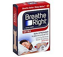 Breathe Right Nasal Strips Extra Tan - 26 Count