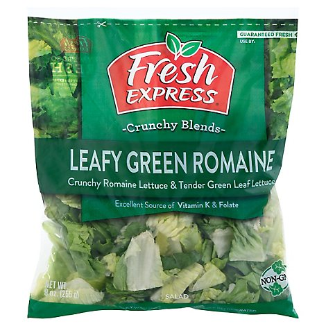 Fresh Express Greens Leafy Green Romaine Salad - 9 Oz