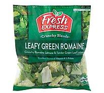 Fresh Express Salad Greens Leafy Green Romaine - 9 Oz