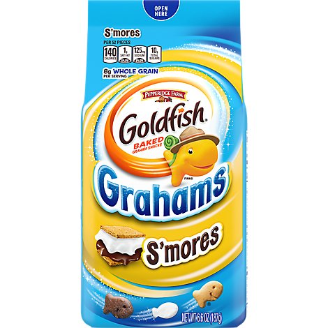 Pepperidge Farm Goldfish Grahams Baked Snack Smores - 6.6 Oz