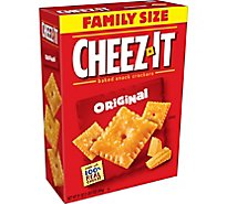 Cheez-It Baked Snack Cheese Crackers Original Family Size - 21 Oz