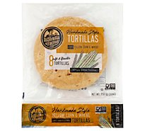 La Tortilla Factory Tortillas Corn Yellow Hand Made Style Bag 8 Count - 11.57 Oz