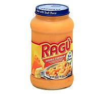 RAGU Cheese Creations Pasta Sauce Double Cheddar Jar - 16 Oz
