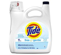 Tide Liquid Detergent Free & Gentle Jug - 150 Fl. Oz.