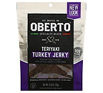 Oberto Turkey Jerky Teriyaki - 3.25 Oz