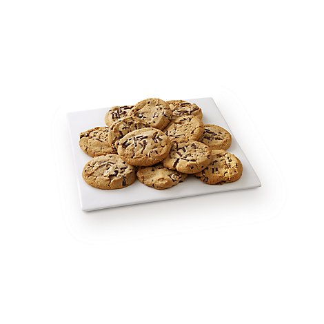 Fresh Baked Chocolate Chunk Jumbo Cookies - 12 Count