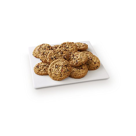 Fresh Baked Cranberry Oatmeal Raisin Jumbo Cookies - 12 Count