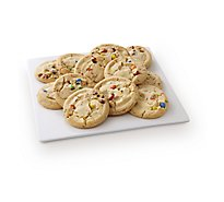 Fresh Baked Rainbow Chip Jumbo Cookies - 12 Count