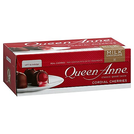 Queen Anne Cordial Cherries Milk Chocolate - 6.6 Oz