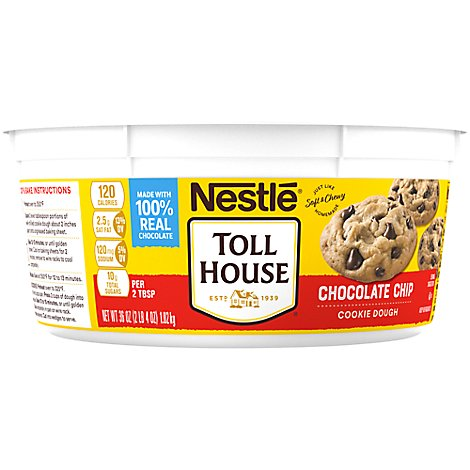 Nestle Toll House Cookie Dough Chocolate Chip - 36 Oz