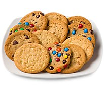 Fresh Baked Favorite Variety Jumbo Cookies - 12 Count