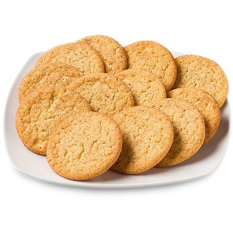 Bakery Cookies Jumbo Snickerdoodle 12 Count - Each