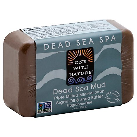 One With Nature Dead Sea Mud Soap - 7 Oz