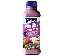 Naked Juice Smoothie Protein Double Berry - 15.2 Fl. Oz.