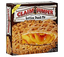 Claim Jumper Pie Lattice Peach - 40 Oz