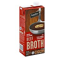 Signature Kitchens Broth Beef - 32 Oz