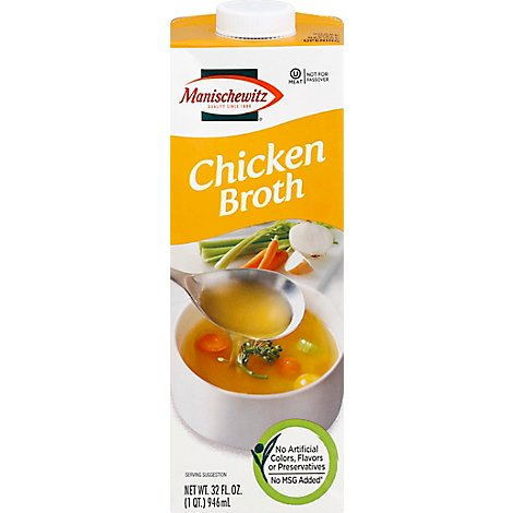 Manischewitz Natural Chicken Broth - 32 Fl. Oz.