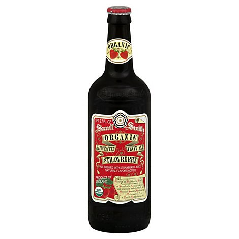 Samuel Smiths Organic Strawberry Ale Bottle - 18.7 Fl. Oz.