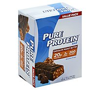 Pure Protein Bar Gluten Free Chocolate Peanut Butter Value Pack - 6-1.76 Oz
