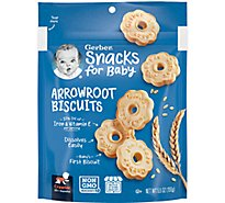 Gerber Baby Food Crawler Arrowroot Biscuits - 5.5 Oz