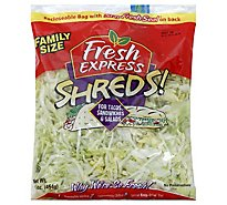 Fresh Express Salad Shreds Prepacked Family Size - 14 Oz