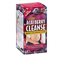 Applied Nutrition Cleanse 14-Day Acai Berry Tablets - 56 Count