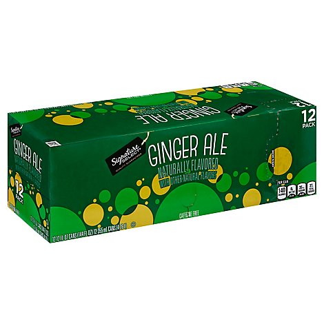 Signature SELECT Soda Ginger Ale - 12-12 Fl. Oz.
